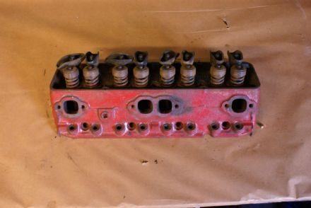 1967-1968 Corvette C2 C3,Cylinder Head,Cast #3917291,SBC 302,327,350,Double Hump,64cc Chambers,Used
